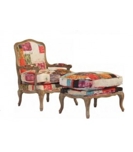 Sillon REIMS PATCHWORK