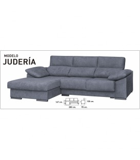 Sofa chaiselongue JUDERIA